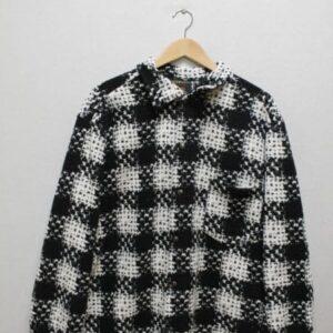 chemise netball noir blanc motif frip in shop