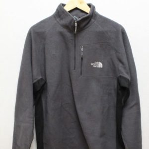 polaire the north face gris simple frip in shop