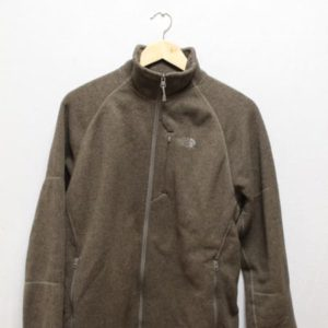 polaire the north face marron frip in shop