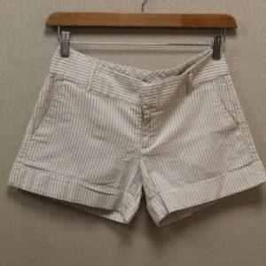 short a rayures blanc beige tommy hilfiger frip in shop