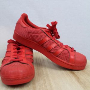baskets adidas rouges frip in shop