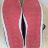 baskets bleues et rouges adidas semelle frip in shop