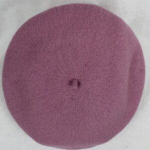 beret lilas frip in shop