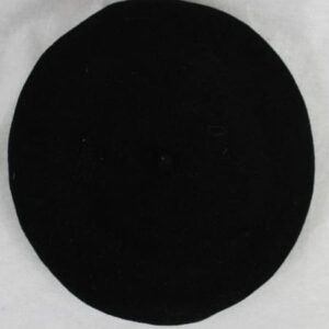 beret noir frip in shop