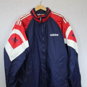 coupe-vent adidas bleu rouge blanc frip in shop