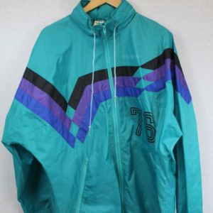 coupe-vent adidas bleu turquoise frip in shop