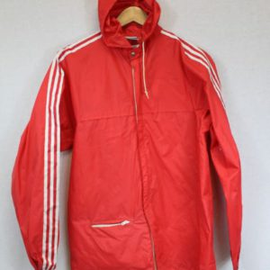 coupe-vent adidas rouge frip in shop
