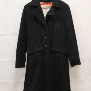 manteau noir esprit asiatique frip in shop