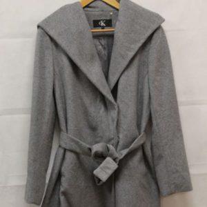 manteau peignoir gris calvin klein frip in shop