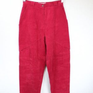 pantalon velours cotele framboise frip in shop