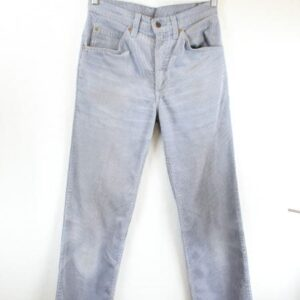pantalon velours cotele gris levis frip in shop