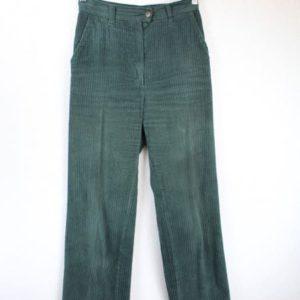 pantalon velorus cotele vert gris frip in shop