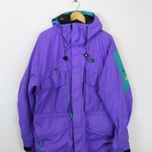 doudoune the north face violet frip in shop