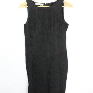 robe sans manches noire motif floral frip in shop