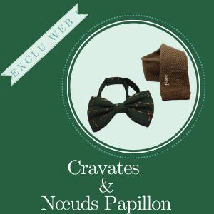 Catégorie accessoires cravates noeuds papillons Frip in shop
