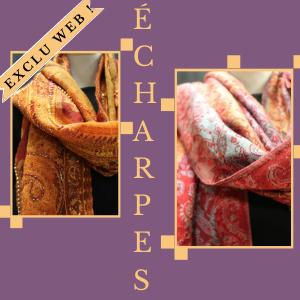Catégorie accessoires echarpes Frip in shop