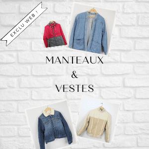 Manteaux et vestes unisexe Frip in shop
